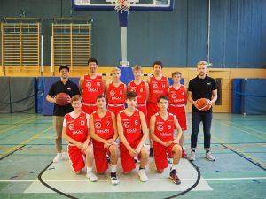 Teamfoto U16 OL